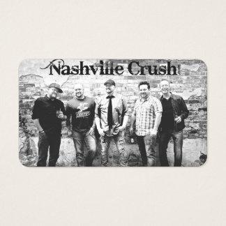 Nashville Crush Matte Business Card