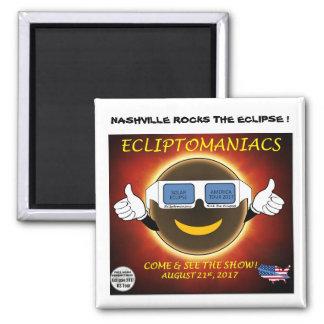 Nashville Eclipse Magnet