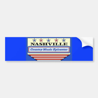 Nashville Epicenter Bumper Sticker