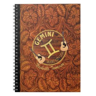 Nashville Gemini Spiral Notebook