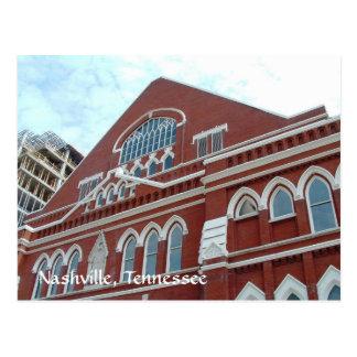 Nashville Grows Around the Opry Postcard