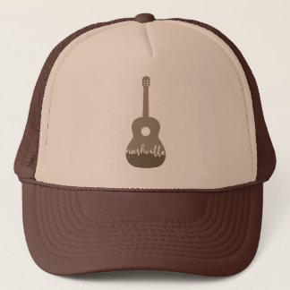 Nashville guitar Music City trucker hat
