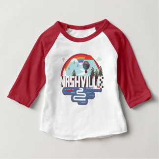 Nashville In Design Baby T-Shirt