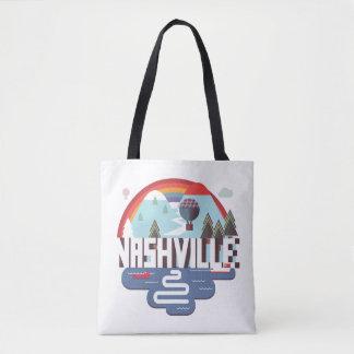 Nashville In Design Tote Bag