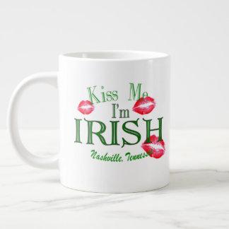Nashville Kiss Me I'm Irish Coffee Mug