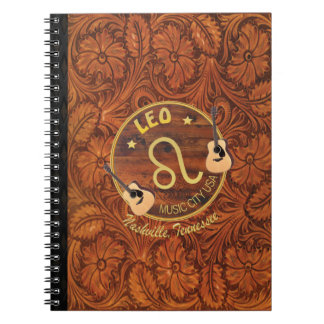 Nashville Leo Spiral Notebook