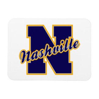 Nashville Letter Rectangular Photo Magnet