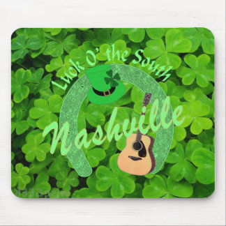 Nashville Luck 'O the South Mousepad