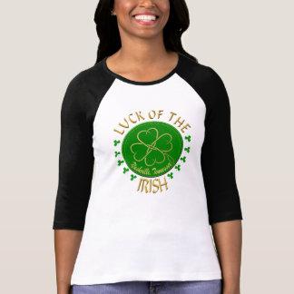 Nashville Luck of the Irish Women's Raglan T-Shirt