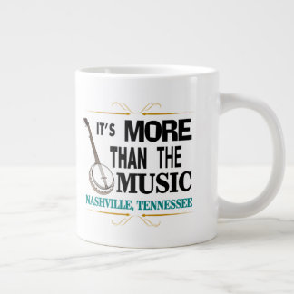 Nashville More Than Music Jumbo Mug