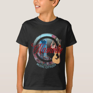 Nashville Music City Kids' T-Shirt