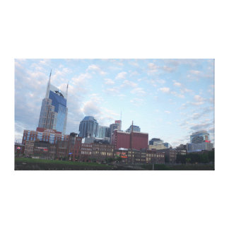 Nashville Panorama Canvas Print