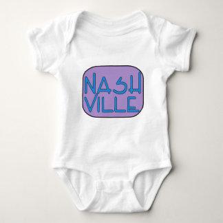 Nashville Purple Baby Bodysuit