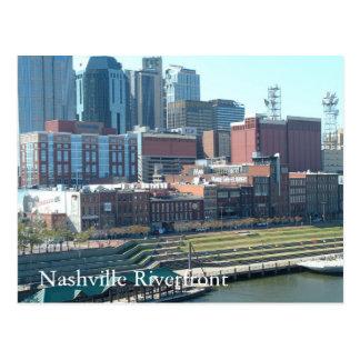 Nashville Riverfront, Nashville Riverfront Postcard