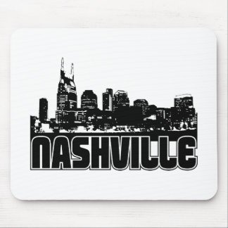 Nashville Skyline Mouse Pad