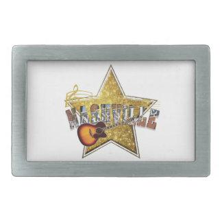 Nashville Star Pewter Belt Buckle