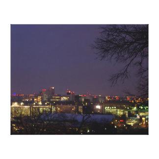 Nashville Sunrise Canvas Print