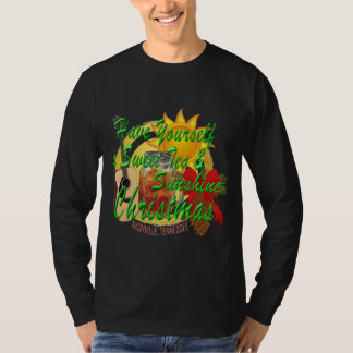 Nashville Sweet Tea & Sunshine Christmas T-Shirt