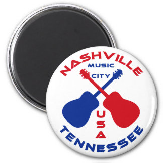 Nashville, Tennessee Music City USA Magnet