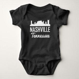Nashville Tennessee Skyline Baby Bodysuit