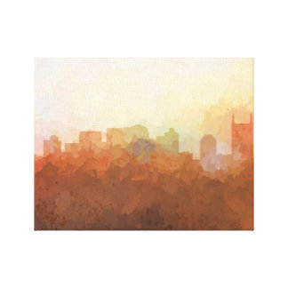 NASHVILLE, TENNESSEE SKYLINE-In the Clouds Canvas