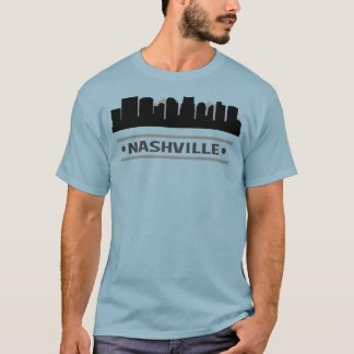 Nashville Tennessee Skyline T-Shirt