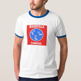 Nashville Tennessee T-shirt with Boots