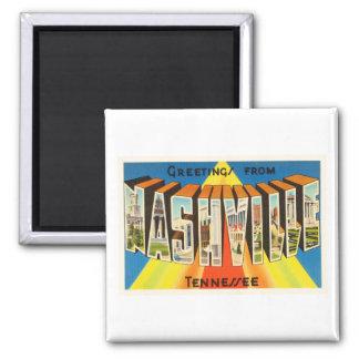 Nashville Tennessee TN Old Vintage Travel Souvenir Magnet