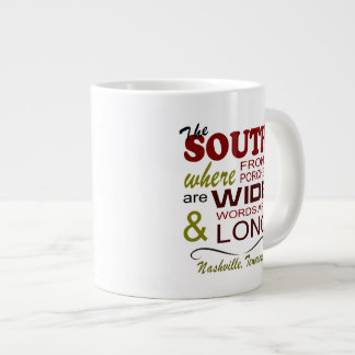 Nashville The South Jumbo Mug