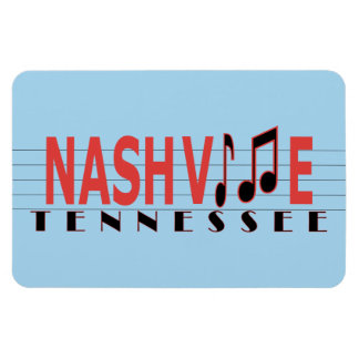 Nashville TN Fridge Magnet