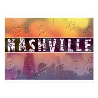 Nashville, TN Retro Postcard