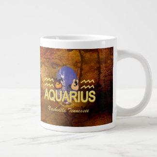 Nashville Zodiac Aquarius Jumbo Mug