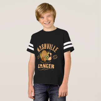 Nashville Zodiac Cancer Boy's Football Shirt