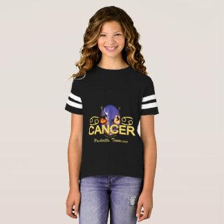 Nashville Zodiac Cancer Girl's Football Shirt