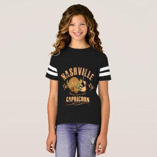 Nashville Zodiac Capricorn Girl's Football Shirt