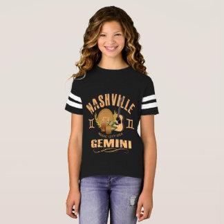Nashville Zodiac Gemini Girl's Football Shirt