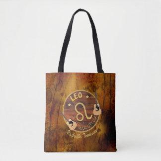 Nashville Zodiac Leo All Over Print Tote Bag