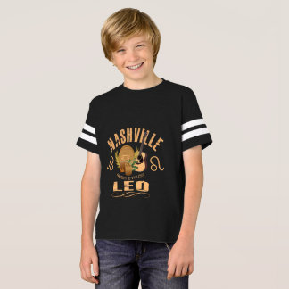 Nashville Zodiac Leo Boy's Football Shirt