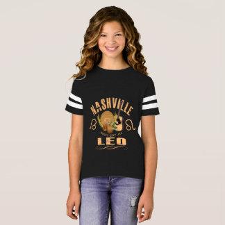 Nashville Zodiac Leo Girl's Football Shirt