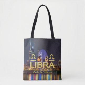 Nashville Zodiac Libra All Over Print Tote Bag