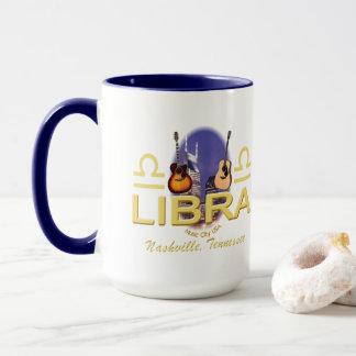 Nashville Zodiac Libra Combo Mug