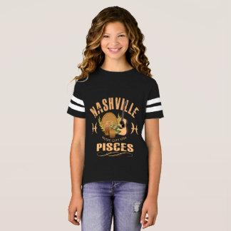 Nashville Zodiac Pisces Girl's Football Shirt