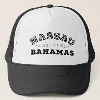 Nassau Bahamas Trucker Hat