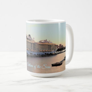 Nassau Daybreak and Cruise Ship Personalized Coffee Mug