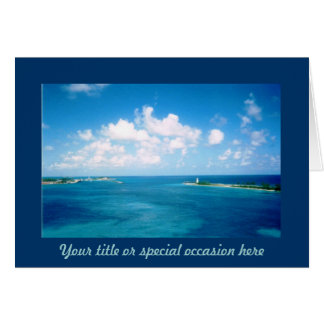 Nassau Harbor Special Occasion Card