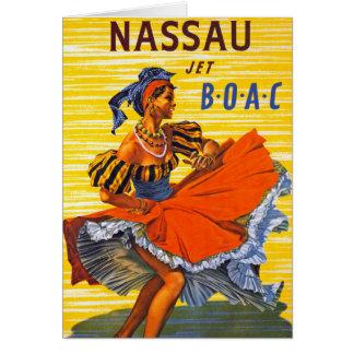 Nassau Jet Greeting Card