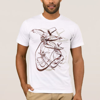 Nastaleeq Sufi Whirling dance T-Shirt