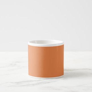 Nasturtium Orange in an English Country Garden Espresso Mug
