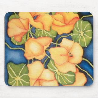 Nasturtiums Mousepad by Ann Haaland
