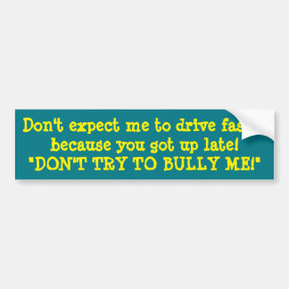 NASTY BUMPER STICKERS for MISERABLE DRIVERS CRAZY